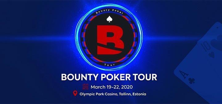 Võida Optibet pokkeris Bounty Poker Tour live pakett