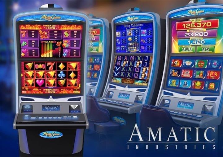 Amatic Industries slotimängud