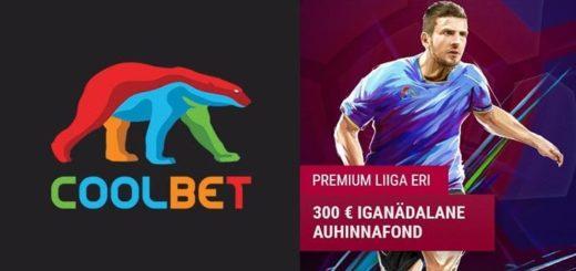 Eesti Premium Liiga jalgpalli tasuta ennustusmäng Coolbet'is