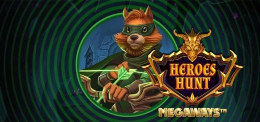 Heroes Hunt Megaways slotiturniir Unibet kasiinos