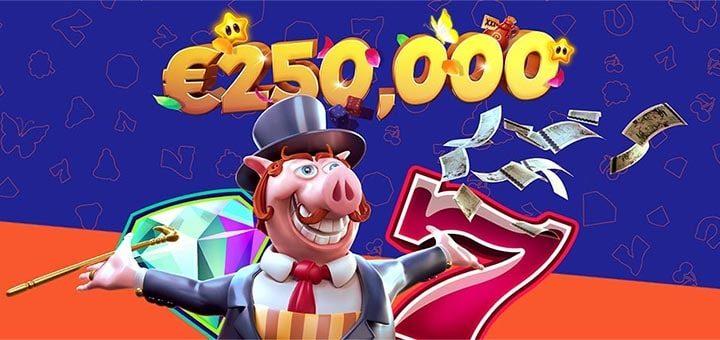 Netent slotimängude €250 000 rahaloos Ninja kasiinos