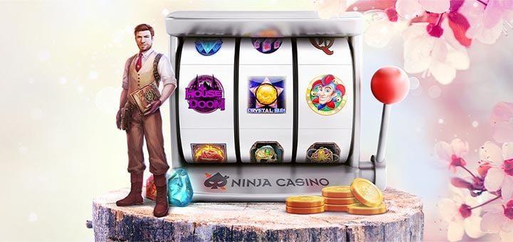 Ninja Casino märtsikuu õnneliku keerutuse slotiturniir