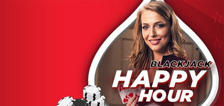 OlyBet live kasiino Blackjack Happy Hour kampaania