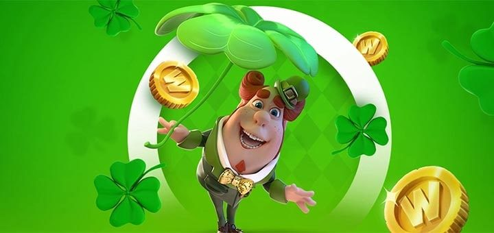 Püha Patricku päeva nädala väljakutse Optibet kasiinos
