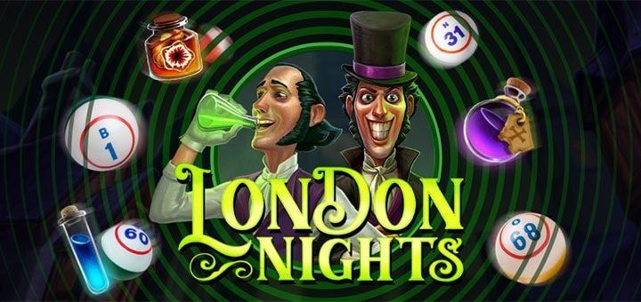 Unibet bingo minimängu London Nights missioonid