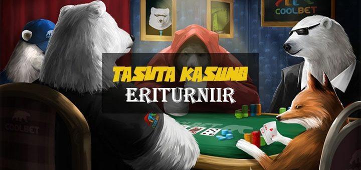 Tasutakasiino Eriturniir Coolbet pokkeris