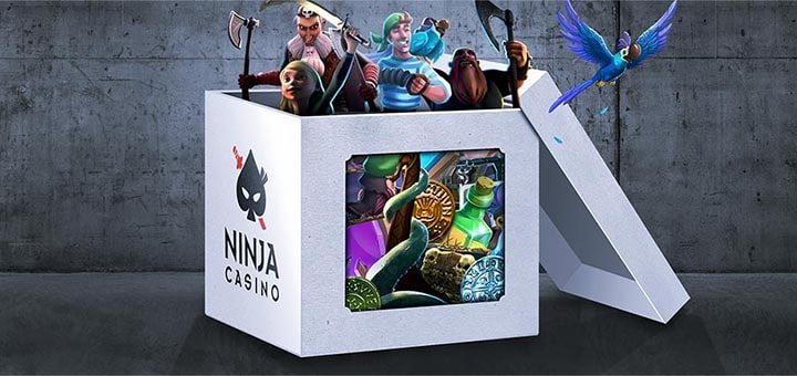 Ninja Casino maikuu missioon - võida kuni €700 lisaraha
