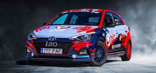 Paf spordiennustuse autoloos - võida tuunitud Hyundai i20