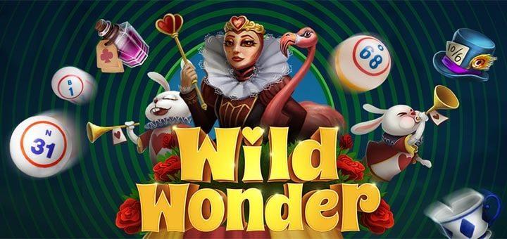 Unibet bingo uues minimängus Wild Wonder 20 tasuta keerutust