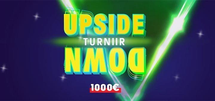 Upside Down ehk Tagurpidi turniir OlyBet kasiinos
