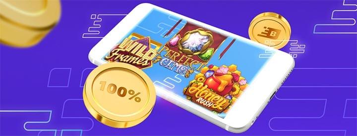Boost Casino tervitusboonus - 100 tasuta spinni