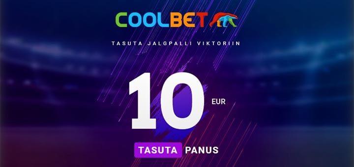 Coolbet'i tasuta jalgpalli viktoriin - iga nädal €10 tasuta panus