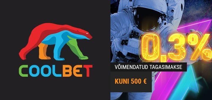 Coolbet Payback Booster rahatagastus - teeni iga nädalavahetus kuni €500