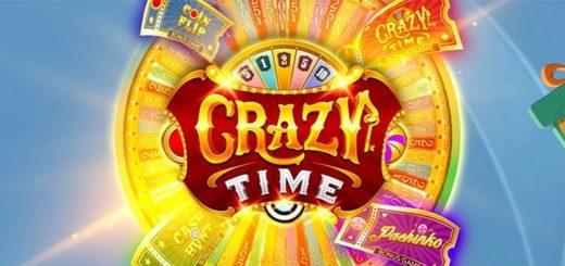 Crazy Time hullud auhinnad - mängi ja võida raha ning tasuta spinne