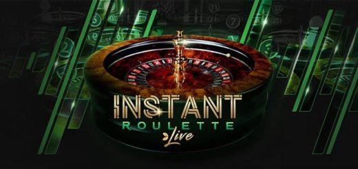 Instant Roulette eripakkumised Unibet live kasiinos