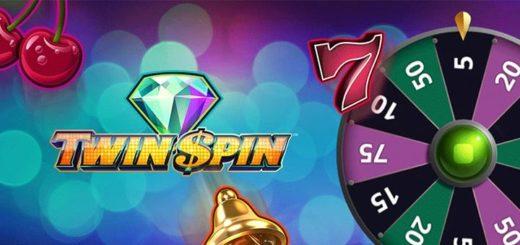 Ninja Casino igapäevased superkeerutused slotimängus Twin Spin