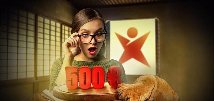Betsafe kasiino uue mängija tervitusboonus - saa €500 koheselt lisaks