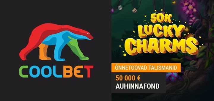 Coolbet kasiino õnnetoovate talismanide missioon - auhinnafondis €50 000