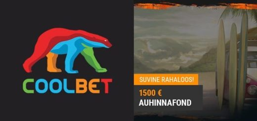 Coolbet kasiino suvine rahaloos - võida €500 puhtalt kätte