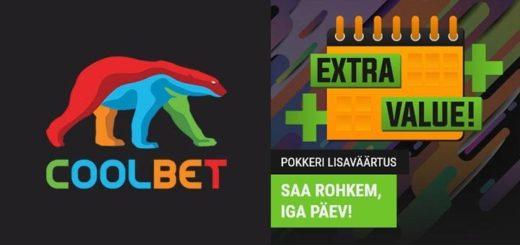 Coolbet pokkeri lisaväärtus - iga päev uus pakkumine