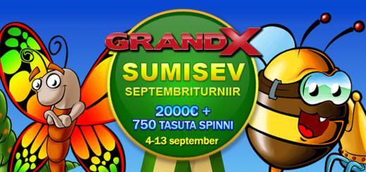 GrandX Casino sumisev sügisene slotiturniir