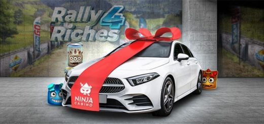 Ninja Casino Supersuvi - võida tutikas Mercedes Benz