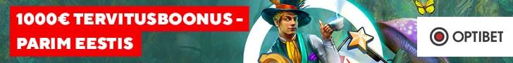 Optibet kasiino kliente ootab €1000 eest kasiino boonuseid