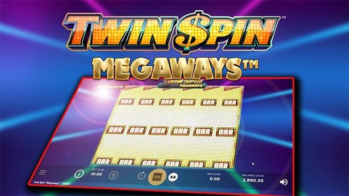 Twin Spin Megaways tasuta spinnide pakkumine