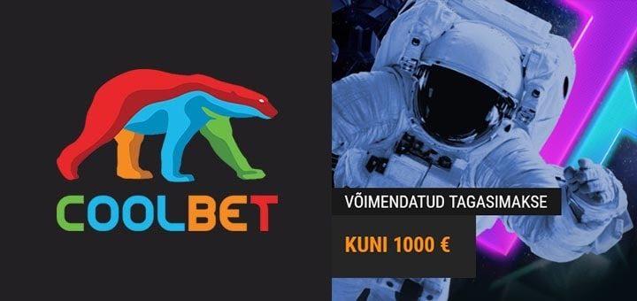 Coolbet Payback Booster - teeni iga nädal kuni €1000 cashback'i