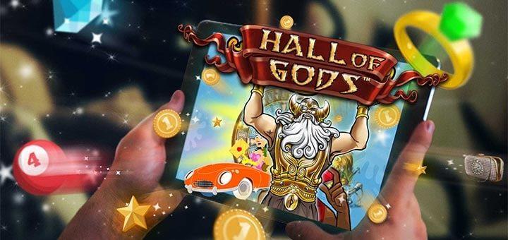 Hall of Gods jackpot turniirid Paf kasiinos