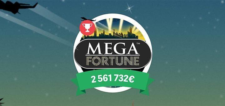 Mega Fortune jackpot slotika turniirid ja tasuta spinnid Paf kasiinos