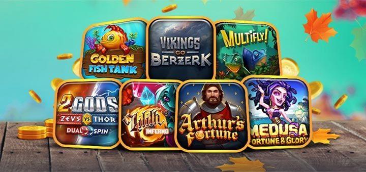 Ninja Casino sügisseiklused - võida kuni €3000 pärisraha