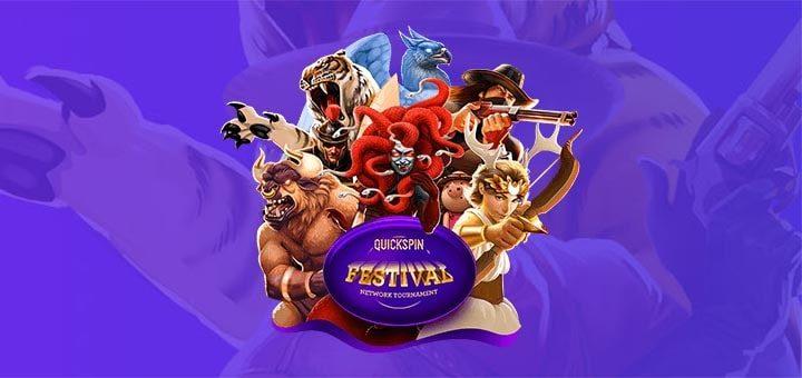 Quickspin Festival - €100 000 auhinnafondiga turniirifestival Eesti kasiinodes-min