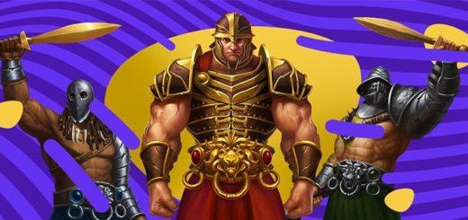 Slots.io nädalamäng - tasuta spinnid slotimängus Champions of Rome