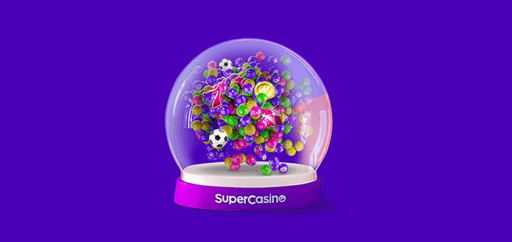 SuperCasino loos - iga nädal loosis raha ja tasuta panused