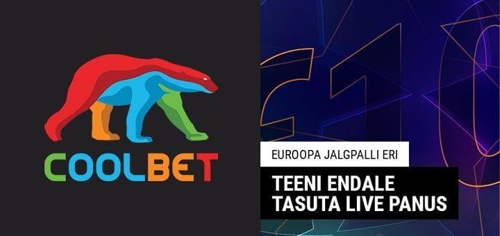 Euroopa Jalgpalli (Meistrite Liiga ja Euroopa Liiga) tasuta live panus