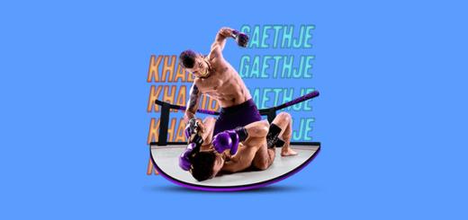 Khabib vs Gaethje UFC 254 boonus SuperCasino Eesti mängijatele