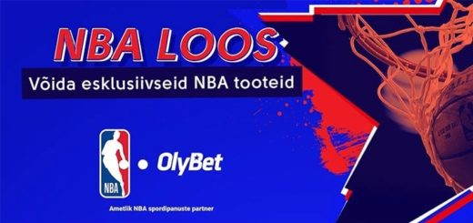 NBA fännitoodete loos OlyBet'is