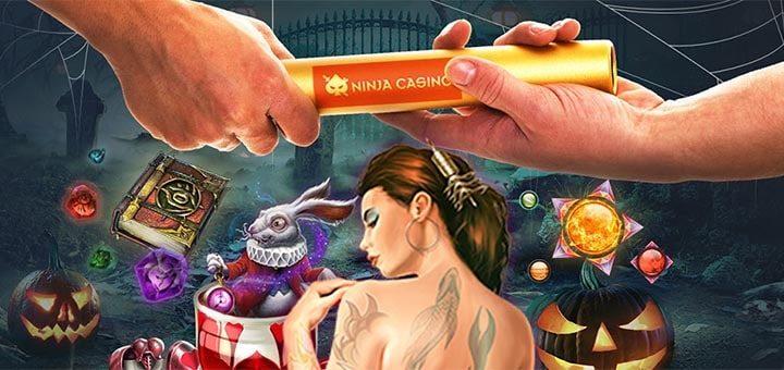 Ninja Casino Halloweeni keerutuste võidujooks