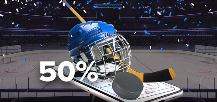 Ninja Sports KHL (jäähoki) panuste cashback