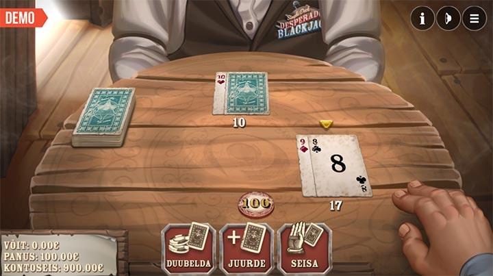 Paf Desperado Blackjack