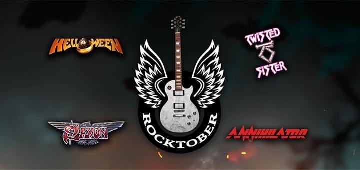 Paf Rocktober - tasuta spinnid, rahalised auhinnad & autogrammiga Gibsoni kitarr