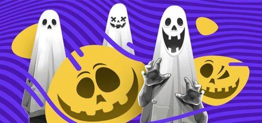 Slots.io kasiino Halloweeni tondipüüdmise kampaania - saa tasuta spinne ja pärisraha