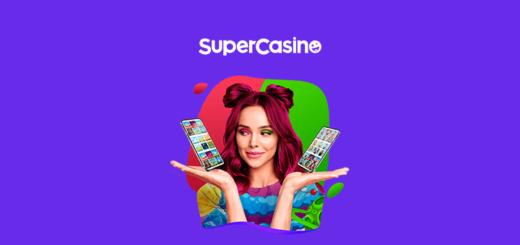SuperCasino - online kasiino ülevaade ja boonused