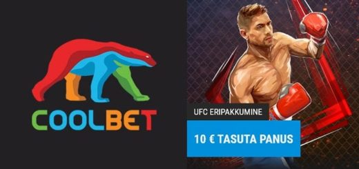 UFC 254 tasuta panus Coolbet'is