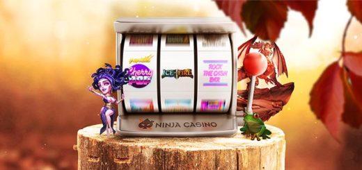 Võida Ninja Casino sügisturniirilt raha või tasuta spinne