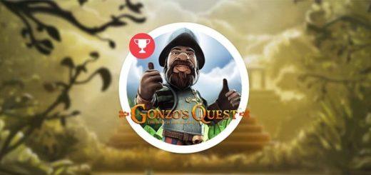 Võida Paf kasiino Gonzo's Quest slotiturniiridel raha ja tasuta spinne