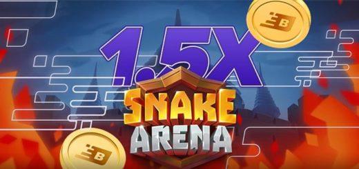 Boost Casino nädalamäng Snake Arena annab 1,5x rohkem Boost punkte