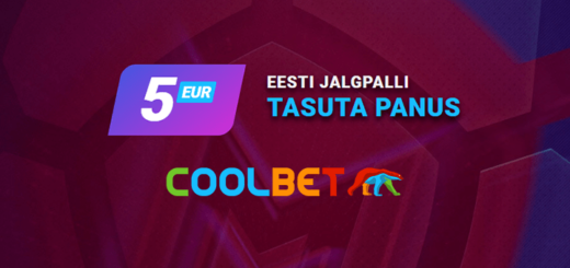 Eesti jalgpalli Premium Liiga tasuta panus Coolbet'is