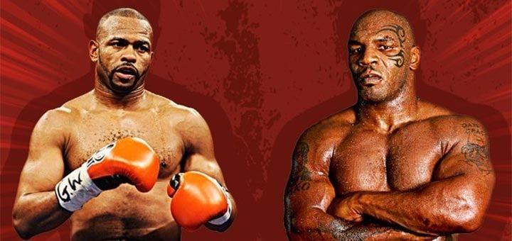 Mike Tyson vs Roy Jones pokšimats